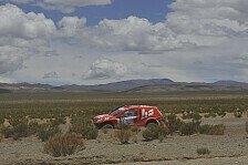 Dakar - Bestes Tagesergebnis erzielt: HS RallyeTeam genie�t die H�henluft