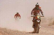 Dakar - Schwerstarbeit f�r Mechaniker: Ruhetag f�r die Dakar-Piloten