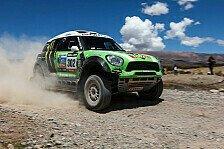 Dakar - Folgt der dritte Streich?: Mini bei der Dakar 2014