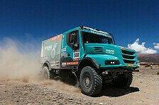 Dakar - Buntes Feld an der Spitze: Trucks: De Rooy wird Favoritenrolle gerecht