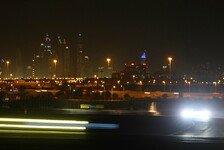 Mehr Sportwagen - Nachttraining in Dubai beendet