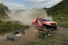 Dakar - Durch die Hitze auf Platz neun: Kahle/Sch�nemann weiter gut in Form
