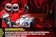Formel 1 - Mit mehr Testosteron gewinnen: Gewinnspiel: Formel-Schnupperkurs