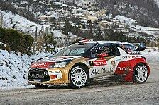 WRC - Hirvonen ger�t unter Druck: Monte Carlo: Loeb f�hrt in den Nachmittag