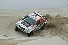 Dakar - Das ist wie ein Sieg: Giniel de Villiers f�hrt zweiten Platz ins Ziel