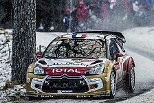 WRC - Novikov erobert Rang drei: Loeb f�hrt siebtem Monte-Sieg entgegen