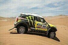 Dakar - Orlando Terranova wird Tagesdritter im BMW X3: X-raid: Tolles Teamwork von Nani Roma