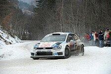 WRC - Vorbereitung auf die Monte: Volkswagen testet in Frankreich