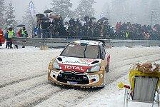 WRC - Hirvonen will ersten Sieg einfahren: Schweden: Loebs letzte Herausforderung