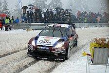 WRC - Ogier muss ins kalte Wasser springen: Rallye Schweden: Die Qual der Wahl