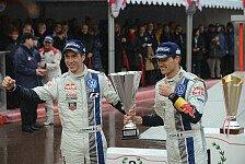 WRC - Zum ersten Mal �ber Platz zwei gl�cklich: Sebastien Ogier
