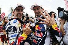 Dakar - Zw�lfter Triumph in Folge: Erfolgreiche Dakar f�r KTM