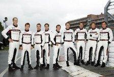 Mehr Sportwagen - Ein starkes Team: Acht Porsche-Werksfahrer in Daytona