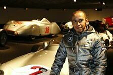 Formel 1 - Mit ihm selbst gesprochen: Hamilton von Brawns Verbleib �berzeugt