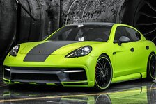 Auto - Optionales Karbon-Bodykit: Porsche Panamera by Regula Exclusive
