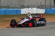 IndyCar - Bilder: Testfahrten - Sebring I
