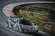 Auto - Rennsport-Flunder im Anflug: Video - McLarens neuer Renner: P1