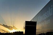 Superbike - Melandri mit Aprilia-Deb�t: Jerez-Test durch Unwetter vorzeitig beendet
