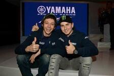 MotoGP - Rossi will es ruhig angehen: Lorenzo: Gro�e Chance auf Titelverteidigung