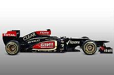Formel 1 - Schwarz-goldene Nacht in Enstone: Lotus stellt den E21 vor
