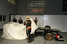 Formel 1 - Bilder: Pr�sentation Lotus E21