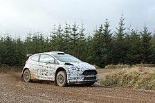 WRC - Anlagen f�r ein konkurrenzf�higes Auto: M-Sport testet den neuen Ford Fiesta R5