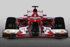 Formel 1 - Hauptsache schnell: Montezemolo zum F138: H�sslich? Sch�n? Egal!