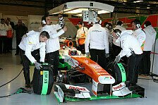 Formel 1 - Mehrj�hriger Vertrag: Force India mit neuem Schuhausr�ster