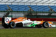 Formel 1 - Force India VJM06 - First Run