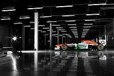 Formel 1 - Vom Simulator in den VJM06: Rossiter in Jerez wohl im zweiten Force India