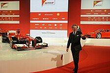 Formel 1 - Alter Massa erw�nscht: Montezemolo: Alonso gibt 2013 noch mehr Gas