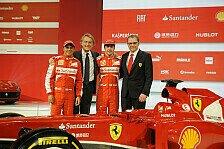 Formel 1 - F��e auf dem Boden lassen: Domenicali: F138 eher kein �ber-Auto
