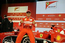 Formel 1 - Diesmal wird alles besser: Video - Massa zum Launch des Ferrari F138