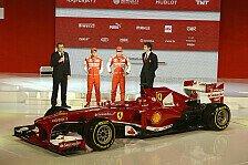 Formel 1 - Bilder: Pr�sentation Ferrari F138