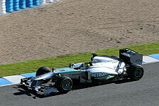 Formel 1 - F1 W04 enth�llt: Video: Mercedes Launch in Jerez