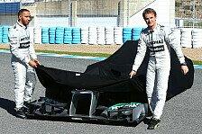 Formel 1 - Schwachstelle Reifen ausgemerzt: Rosberg schw�rmt vom F1 W04