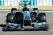 Formel 1 - Sch�nheits-OP light: Technikanalyse Mercedes AMG F1 W04