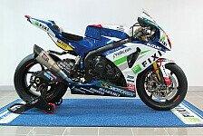 Superbike - Suzuki in neuen Farben