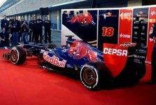 Formel 1 - Definitiv ein besseres Auto: Toro Rosso stellt den STR8 vor