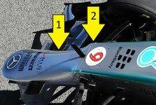 Formel 1 - Bilderserie: Technikanalyse Mercedes AMG F1 W04 in Bildern