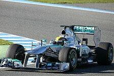 Formel 1 - Der Neue im neuen Auto: Video - Hamiltons 1. Runde im Silberpfeil
