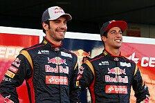 Formel 1 - Franz Tost ist noch nicht �berzeugt: Ricciardo und Vergne bereit f�r Red Bull?