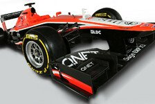 Formel 1 - Mit KERS zum Erfolg: Marussia pr�sentiert den MR02