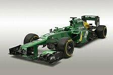 Formel 1 - Ehrgeizige Pl�ne: Caterham: Launch in der Boxengasse