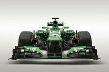 Formel 1 - Evolution, keine Revolution: Caterham pr�sentiert den CT03