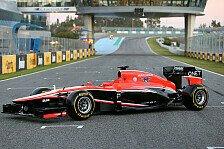 Formel 1 - Bestm�gliche aerodynamische Basis: Marussias MR02 erstmals mit KERS
