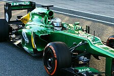 Formel 1 - Konkurrenz meldet Zweifel an: Caterham mit illegalem Auspuff unterwegs?