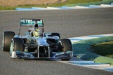 Formel 1 - Problem am Kabelstrang: Mercedes beendet ersten Testtag vorzeitig