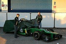 Formel 1 - Bilder: Pr�sentation Caterham CT03