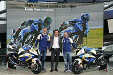 Superbike - BMW pr�sentiert WSBK-Team